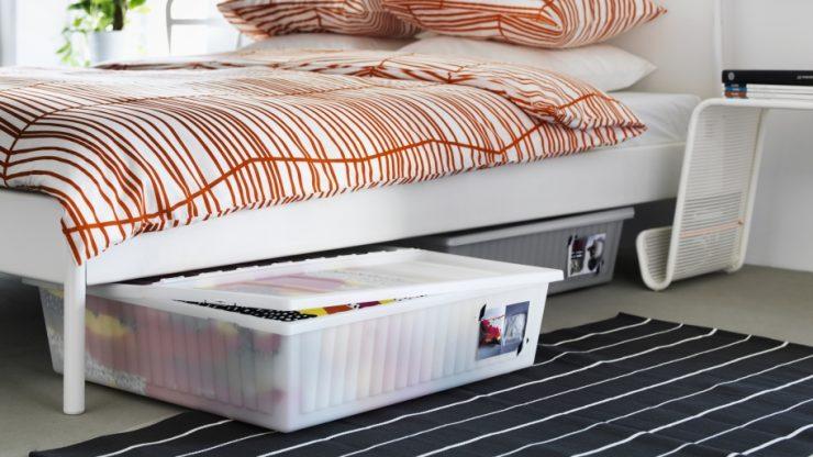 Under-Bed Storage Plastic