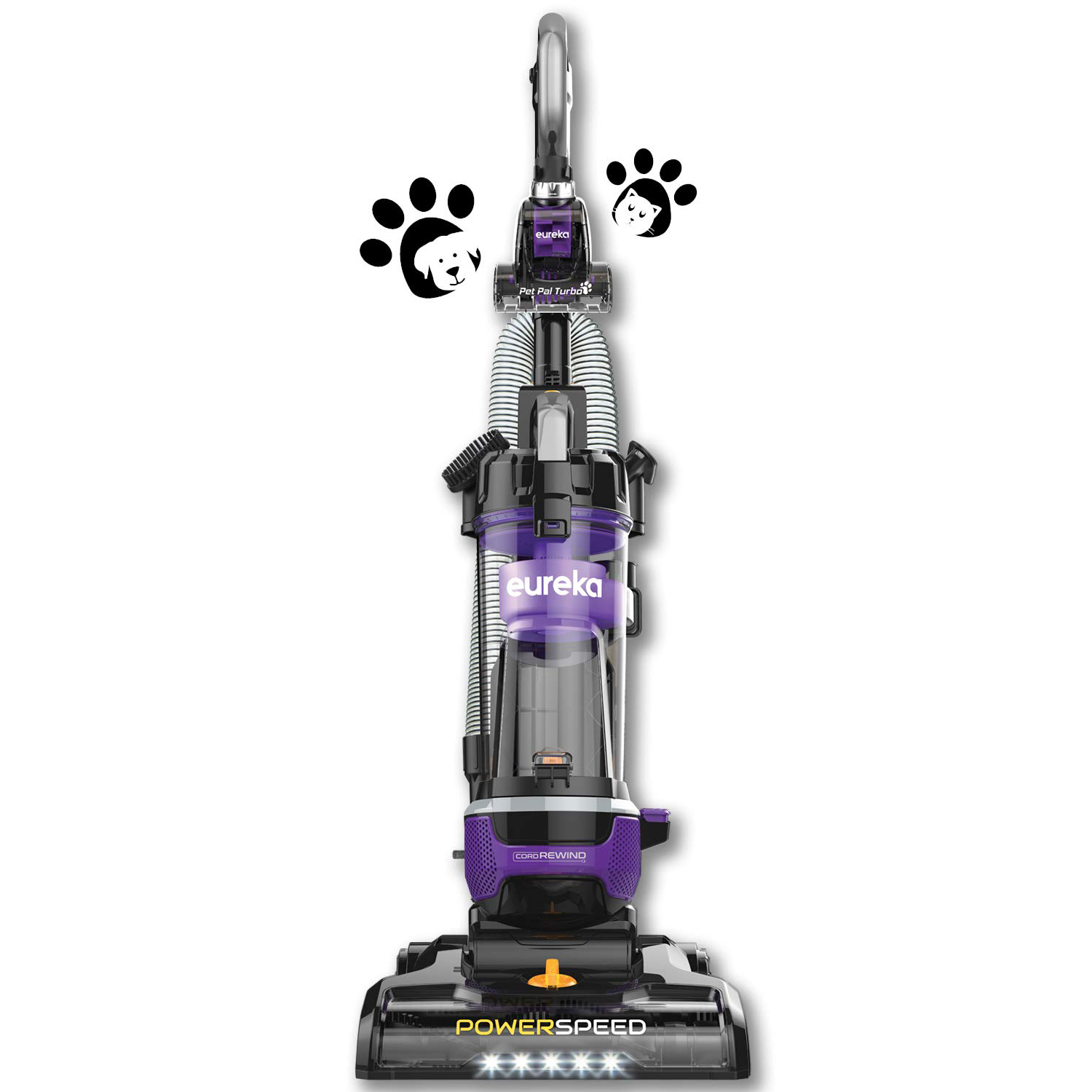 Best Vacuum for Pet Hair: Eureka NEU202 Bagless Upright Vacuum